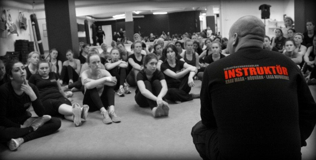 Kurser inom Krav Maga för kvinnor på Självförsvarsskolan